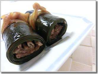 こぶ巻 牛肉 レシピ